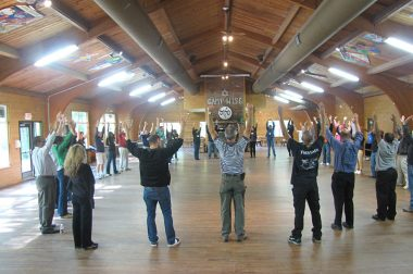 LeadDIVERSITY participants as Camp Wise